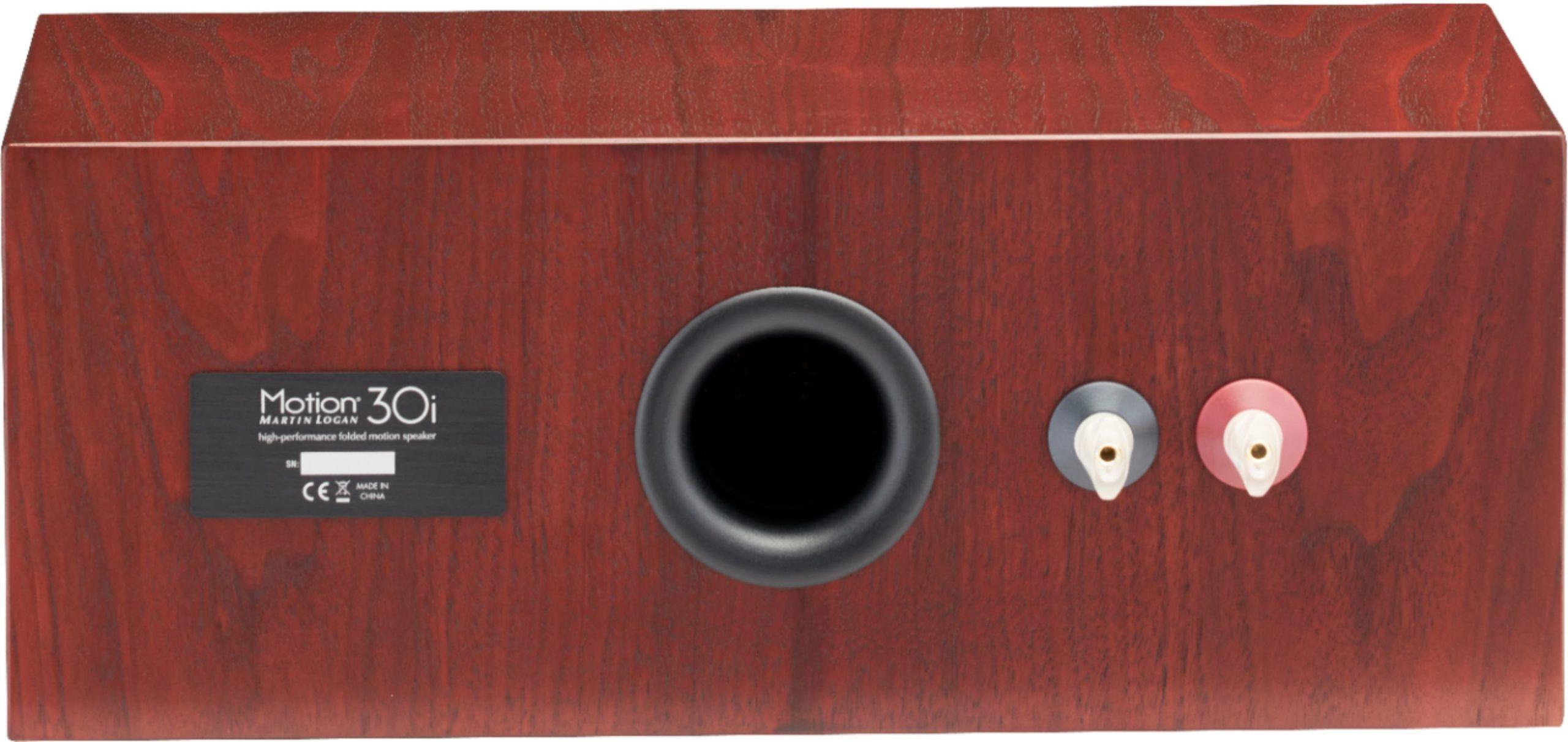"Motion Dual 5-1/2"" Passive 2.5-Way Center-Channel Speaker Red Walnut"