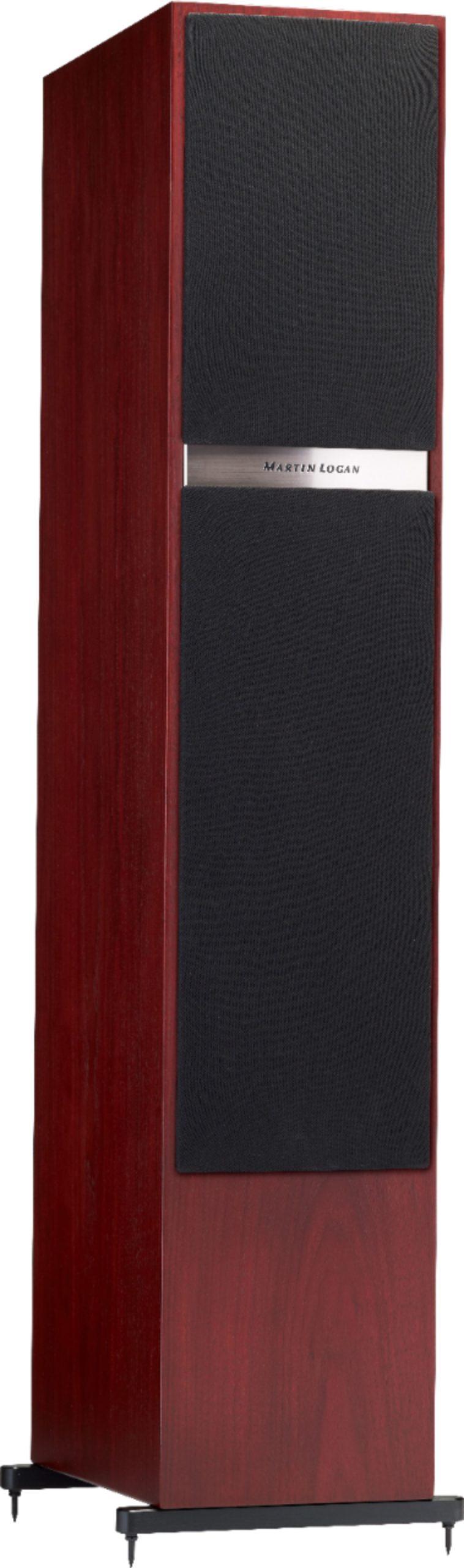 "Motion Dual 8"" Passive 2.5-Way Floor Speaker (Each) Red Walnut"