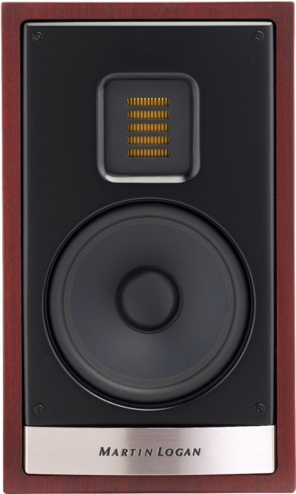 "Motion 5-1/4"" Passive 2-Way Bookshelf Speaker (Each) Red Walnut"