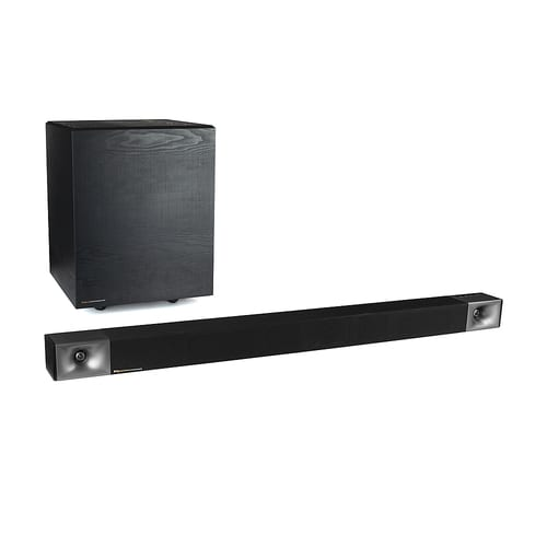 """Cinema 600 3.1 Sound Bar System with Wireless Pre-Paired 10"""" Subwoofer"""
