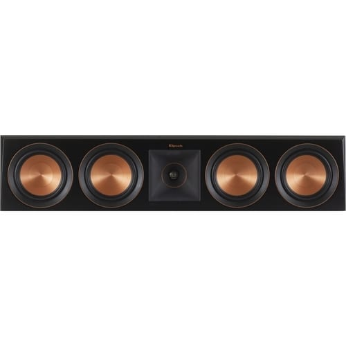 "Reference Premiere Quad 5-1/4"" 600-Watt Passive 3-Way Center-Channel Speaker"