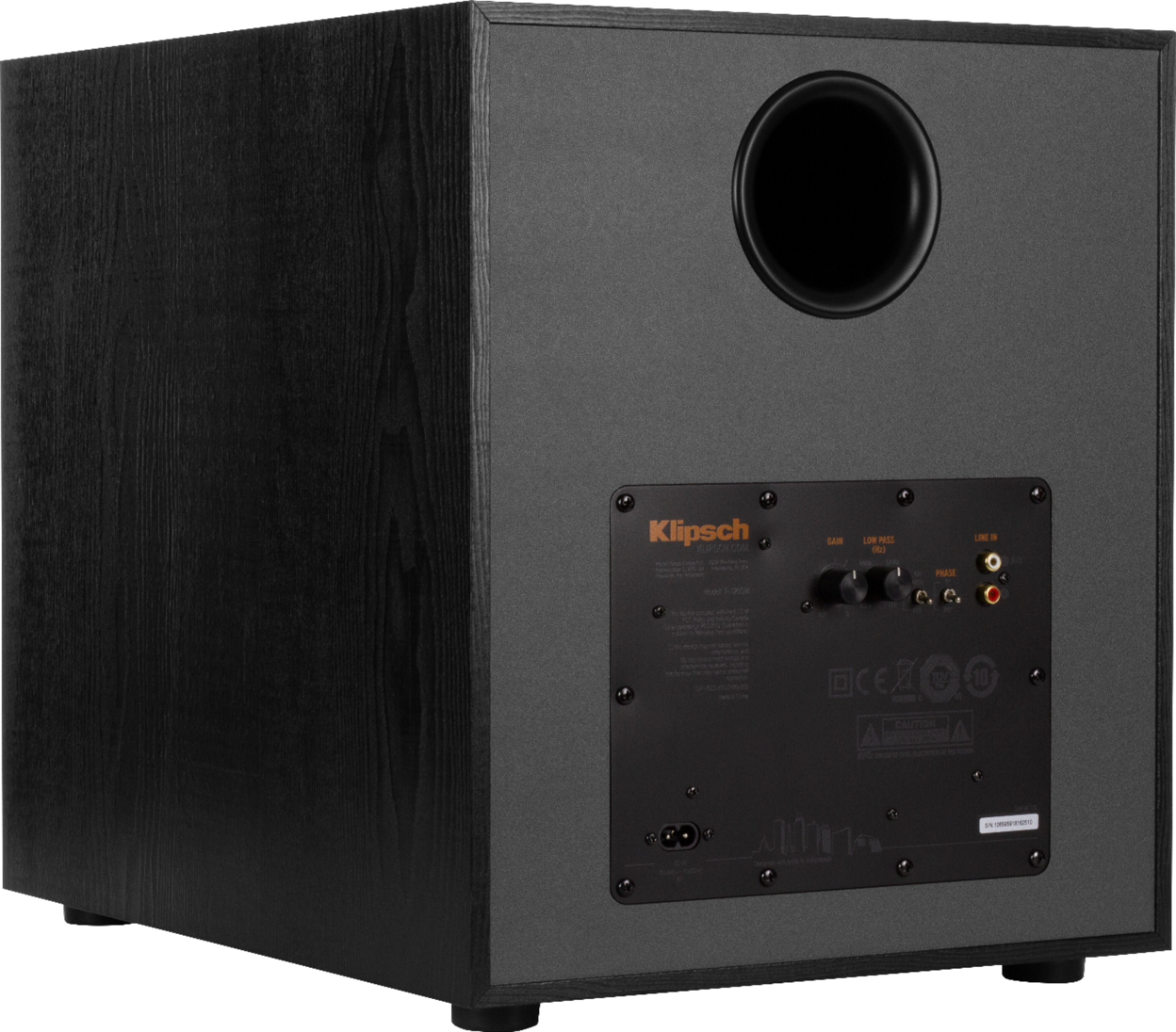 """Reference Series 12"""" 400W Powered Subwoofer"""