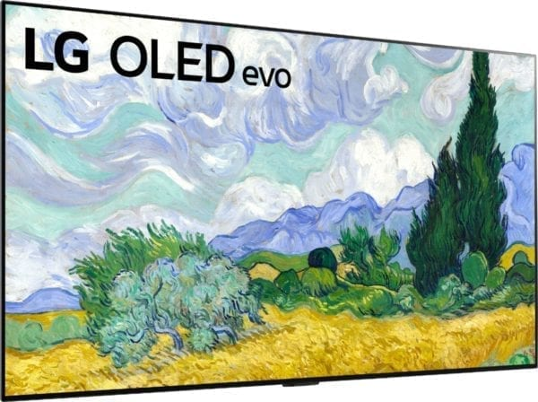 """65"""" Class G1 Series OLED evo 4K UHD Smart webOS TV with Gallery Design"""